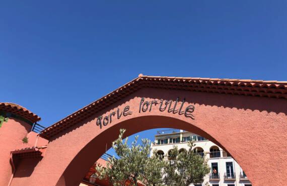 Marché Forville à Cannes, devanture