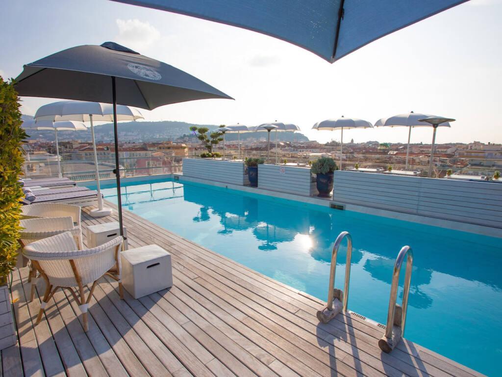 Bclub Boscolo, roof top, Nice (pool)