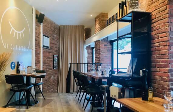 Le Clin d'Œil : restaurant, cellar and wine bar in Nice (room)