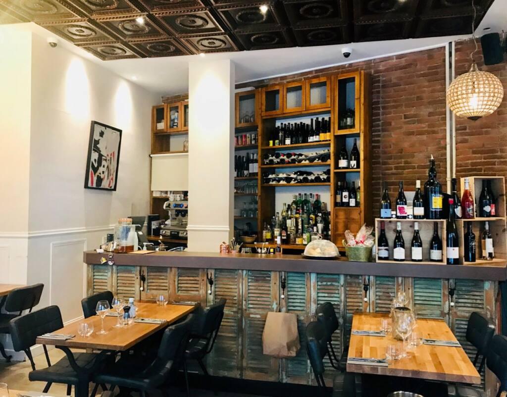 Le Clin d'Œil : restaurant, cellar and wine bar in Nice (bar)