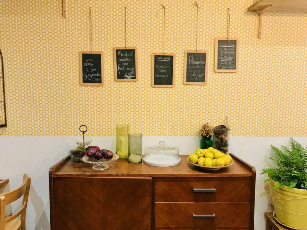 La Belle Saison, vegetarian restaurant, Nice City Guide Love Spots (deco)