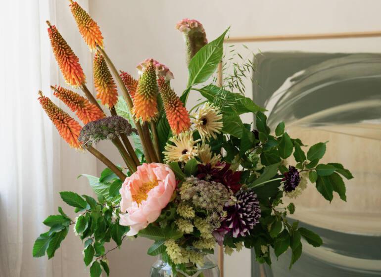 Martin Fleurs, fleuriste à Nice (bouquet)