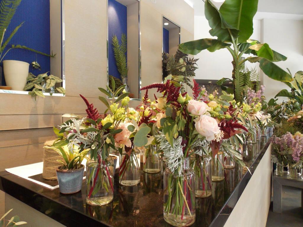 Martin Fleurs, florist in Nice (marriage)
