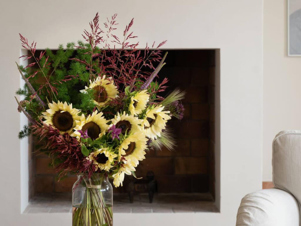 Martin Fleurs, fleuriste à Nice (tournesols)