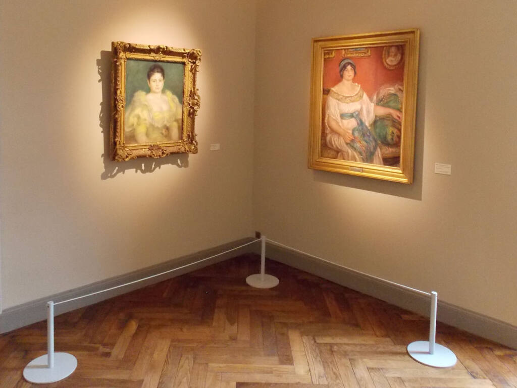 Musée Renoir, maison du peintre à Cagnes-sur-Mer (peintures)