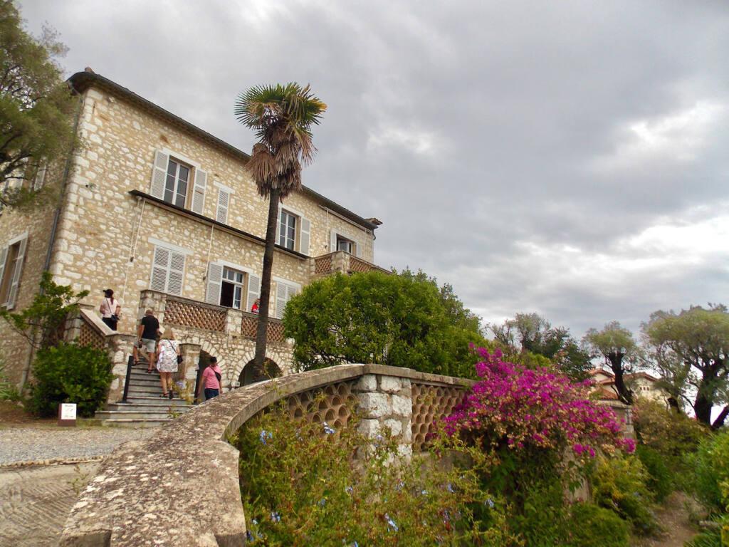 Musée Renoir, maison du peintre à Cagnes-sur-Mer (sentier)
