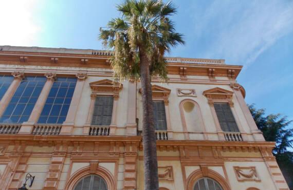 Musée des Beaux Arts à Nice (palmiers)