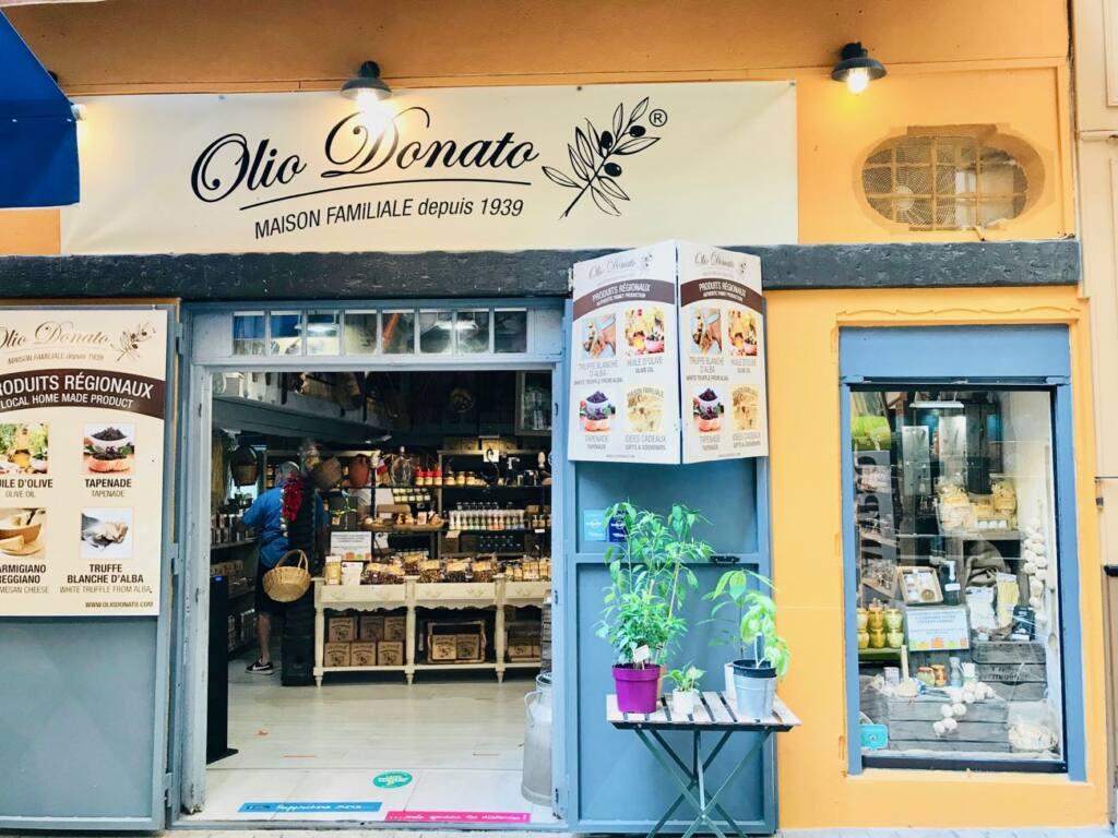 Olio Donato, Italian Deli, Nice city guide love spots (front)