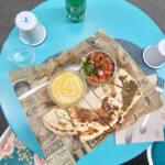 Saj, restaurant méditerranéen à Nice (plats)