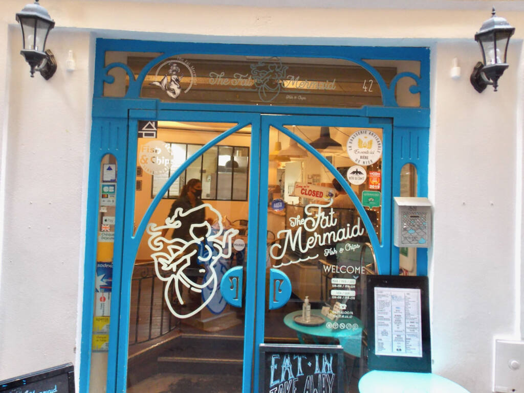 The Fat Mermaid, fish and chips (restaurant)