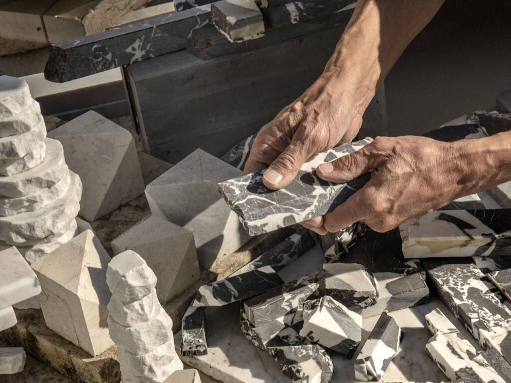 Neolithique, Objets recyclés, à Cagnes-sur-mer (mains)