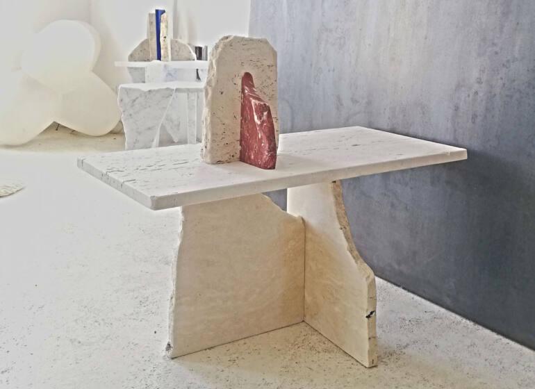 Neolithique, Objets recyclés, à Cagnes-sur-mer (tables)