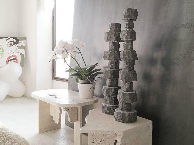 Neolithique, Objets recyclés, à Cagnes-sur-mer (design)
