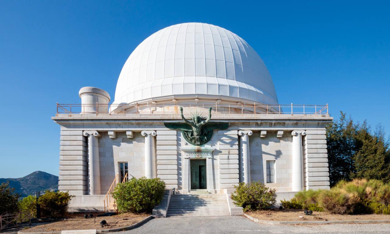 Observatoire de la Côte d'Azur, site scientifique à Nice (coupole)