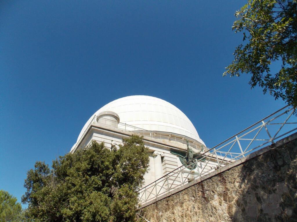 Observatoire de la Côte d'Azur, site scientifique à Nice (dôme)